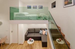 A seating area at Apartment Ma Vi