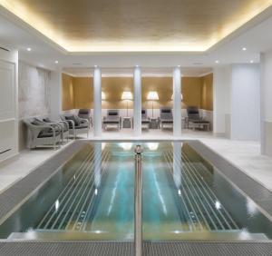 Het zwembad bij of vlak bij Clarion Grandhotel Zlaty Lev