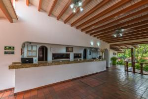 The lobby or reception area at Hotel Faranda Bolívar Cúcuta