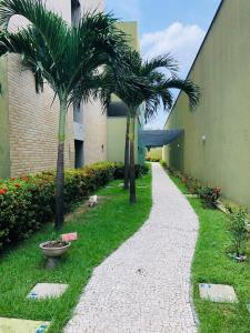A garden outside Studio Iracema - APTO 1502