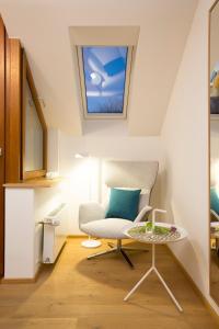 Ein Sitzbereich in der Unterkunft Hotel Restaurant Seehalde