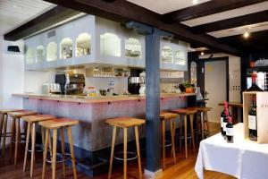 Лаундж или бар в Hotel Krone