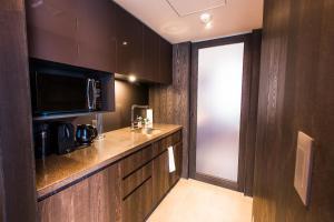 A kitchen or kitchenette at Haven Niseko