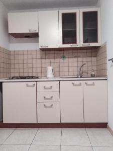A kitchen or kitchenette at Seafront Garden Apartments Lumbarda
