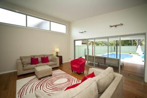 A seating area at SUNLINE