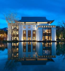 The St. Regis Lhasa Resort during the winter