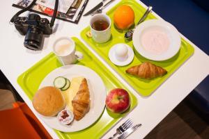 Επιλογές πρωινού για τους επισκέπτες του ibis budget Amsterdam City South