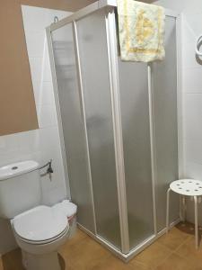Un baño de Apartamentos El Silo