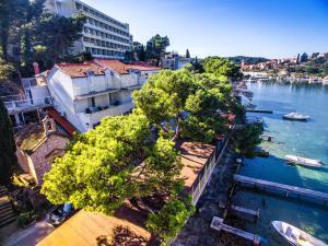 A bird's-eye view of Apartments Boras