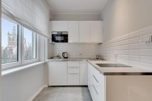 Kuchnia lub aneks kuchenny w obiekcie Comfort Apartments Old Town