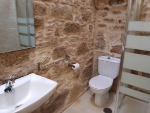 A bathroom at Albergue A Salazon