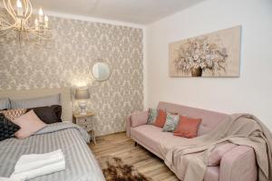 Posezení v ubytování Křišťanka - kouzelné apartmány