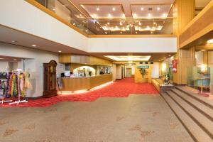 The lobby or reception area at Yumoto Noboribetsu
