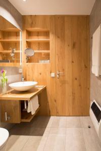 Ein Badezimmer in der Unterkunft Hotel Restaurant Seehalde