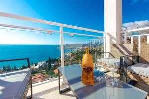 A balcony or terrace at Horizon View Apartment