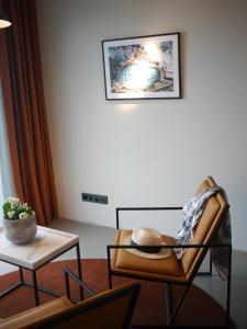 En sittgrupp på Marstrands Havshotell
