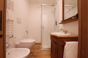 A bathroom at Chalet Falorie