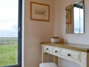 A kitchen or kitchenette at Clachan Lodge