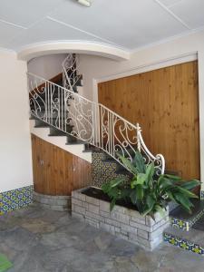 The lobby or reception area at La casa de Aya