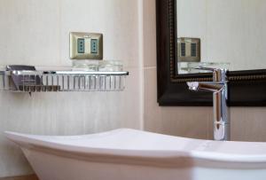 Un baño de Hotel y Termas Huife