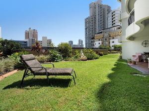 A garden outside Victoria Square Apartments Broadbeach - Level 4