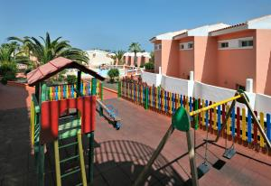 Children's play area at Globales Costa Tropical