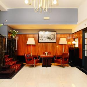The lobby or reception area at Amrâth Hotel DuCasque