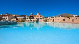 The swimming pool at or near Melia Villaitana