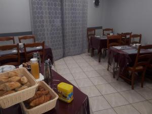 Restaurant ou autre lieu de restauration dans l'établissement Hotel de France
