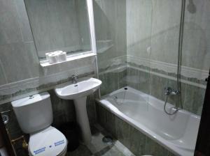 A bathroom at Hotel Nuevo Ara
