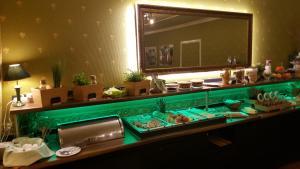 Ein Badezimmer in der Unterkunft Ahorn Hotel & Restaurant