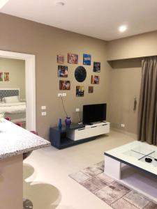 تلفاز و/أو أجهزة ترفيهية في ocean view apartment