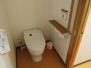 A bathroom at Oshi Ryokan