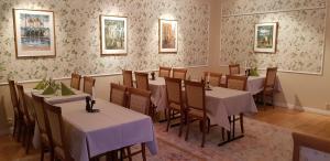 En restaurang eller annat matställe på Långshyttans Brukshotell