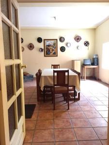 Restaurant ou autre lieu de restauration dans l'établissement Posada Don Giorgio
