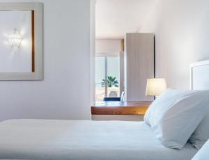 Cama o camas de una habitación en Dom Pedro Lagos