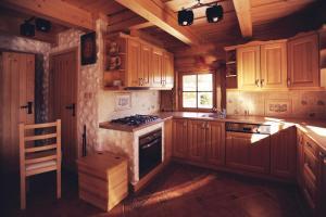 Kuchnia lub aneks kuchenny w obiekcie Cytrynówka