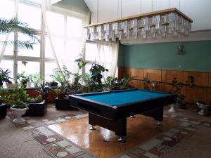 "A billiards table at Дом отдыха ""Клязьма"""