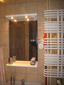 Łazienka w obiekcie Mieszkanie przy Dworcu Gdynia Główna