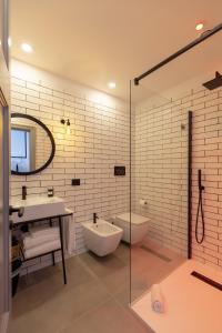 A bathroom at Maison Bon Bon
