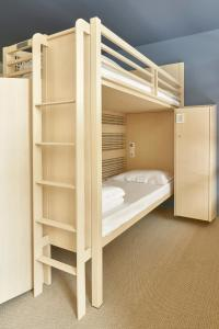 A bunk bed or bunk beds in a room at FIAP Jean Monnet