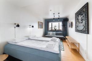 Cama o camas de una habitación en Eric the Red Guesthouse