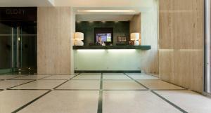 El vestíbulo o zona de recepción de TURIM Restauradores Hotel