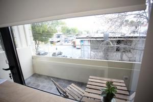 Balkon oz. terasa v nastanitvi G.R City Heart