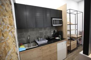 Kuhinja oz. manjša kuhinja v nastanitvi G.R City Heart