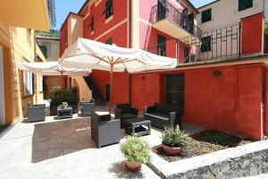A porch or other outdoor area at Hotel Margherita