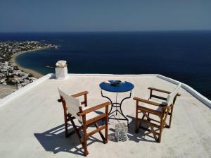 Μπαλκόνι ή βεράντα στο House in Skyros with an amazing sea view