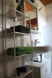 Küche/Küchenzeile in der Unterkunft Ferienwohnung Laufenburg