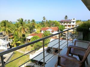 Балкон или терраса в Mars Hotel Tangalle