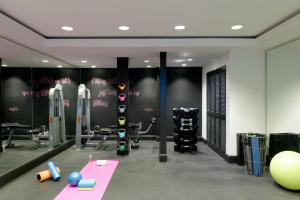 The fitness center and/or fitness facilities at Montrose West Hollywood